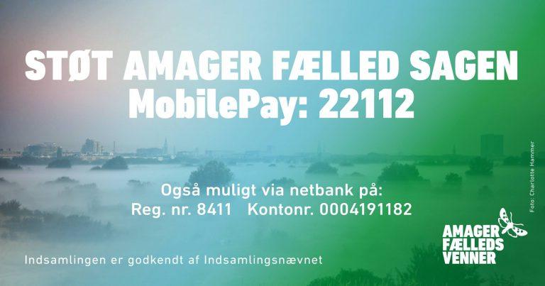 Støt Amager Fælleds Venner med et pengebidrag