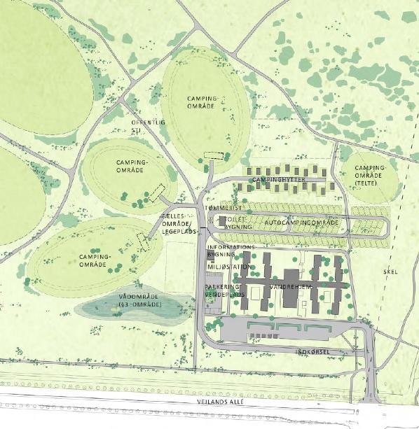 Høringssvar til lokalplanforslag for camping på Amager Fælled