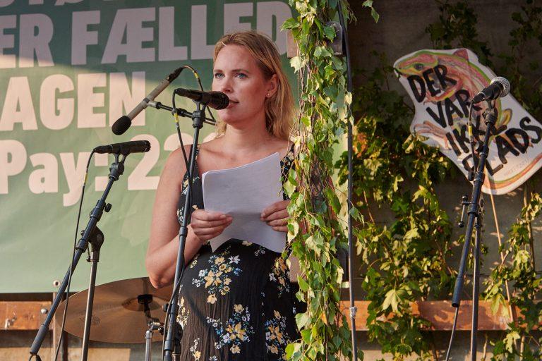 Josefine Klougart på Rådhuspladsen – se hør og læs