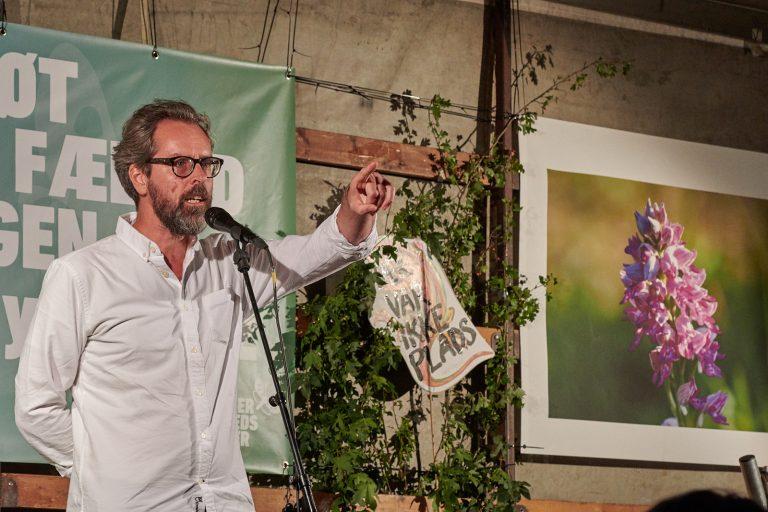 Anders Morgenthaler på Rådhuspladsen – se og hør